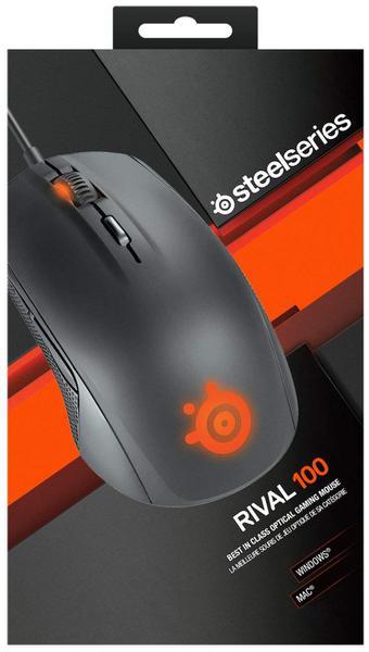 Мишка Steelseries Rival 100 USB Black (SS62341), мініатюра №8