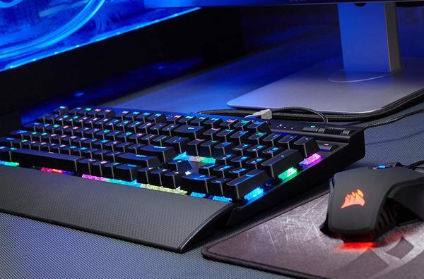 Клавіатура Corsair  K70 RGB RAPIDFIRE (FR) (CH-9101014-FR), мініатюра №4
