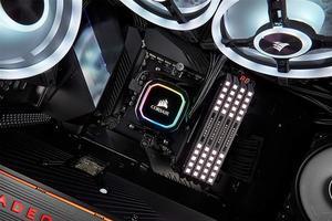 Система водяного охлаждения Corsair iCUE H115i RGB PRO XT (CW-9060044-WW), Intel 2066/2011/1200/1151/1150/1155/1156, AMD TR4/AM4/AM3/AM2, 322х137х27 мм