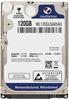 """Внутрішній жорсткий диск Mediamax 120ГБ 5400 обертів в хвилину 8МБ 2.5"""" SATA II WL120GLSA854G, мініатюра №1"""