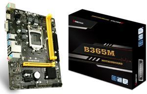 Материнська плата Biostar B365MHC s1151 B365 2xDDR4 HDMI-VGA mATX