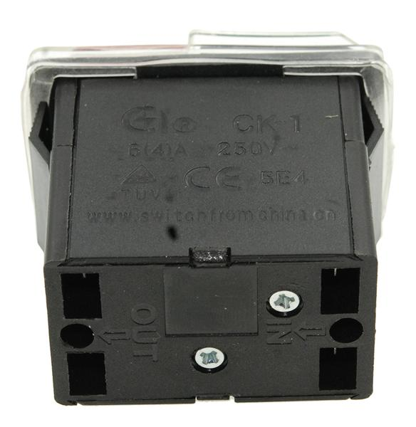 Кнопка VJ Parts бетономешалки 4 контакта 4A CK-1 арт кн1350, мініатюра №3