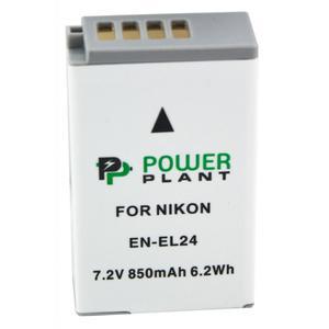 Аккумулятор для фото/видеокамер PowerPlant Nikon EN-EL24 (DV00DV1407)