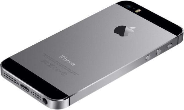 Смартфон Apple iPhone 5S 16GB Space Gray, мініатюра №4