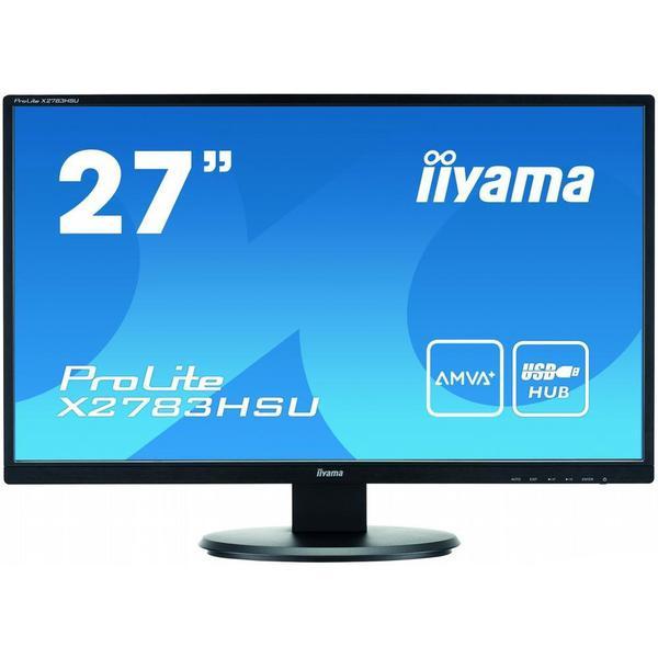 """Монітор Iiyama LED 27"""" Full HD X2783HSU-B1, мініатюра №6"""