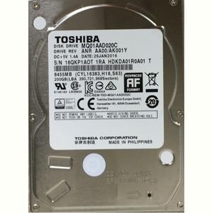 """Внутрішній жорсткий диск Toshiba 2.5"""" SATA 200GB 8MB 4200rpm MQ01AAD020C"""