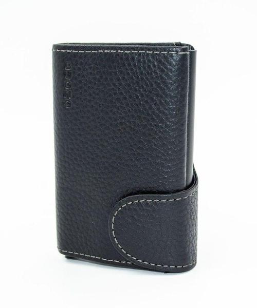 Гаманець Buono Leather Сardcase (02-7750 black), мініатюра №2