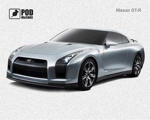 Коврик Для Мышки Podmыshku Nissan GT-R 605237