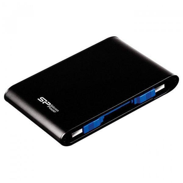 """Зовнішній жорсткий диск Silicon Power 1ТБ 2.5"""" USB 3.1 чорний SP010TBPHDA80S3K, мініатюра №3"""