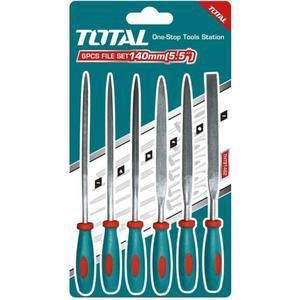 Набор инструментов Total надфилей, 140мм, 6шт. (THT91462)