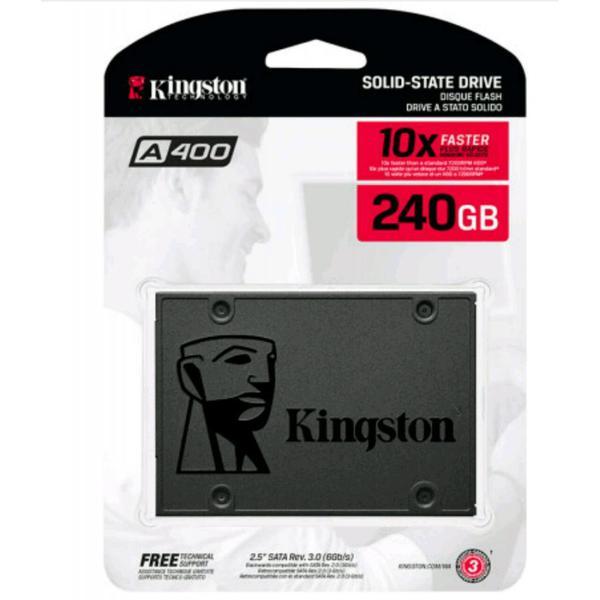 """Внутренний накопитель Kingston 240 ГБ 2.5"""" SATA 6Gb TLC SA400S37 240G, мініатюра №5"""