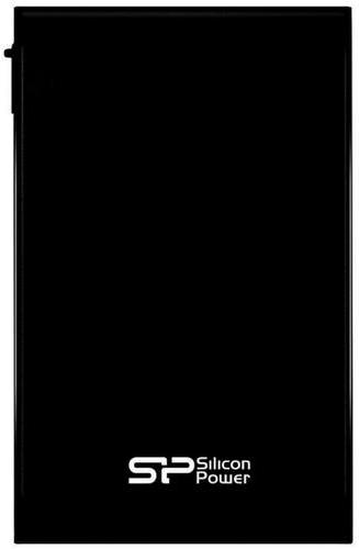 """Зовнішній жорсткий диск Silicon Power 1ТБ 2.5"""" USB 3.1 чорний SP010TBPHDA80S3K, мініатюра №1"""