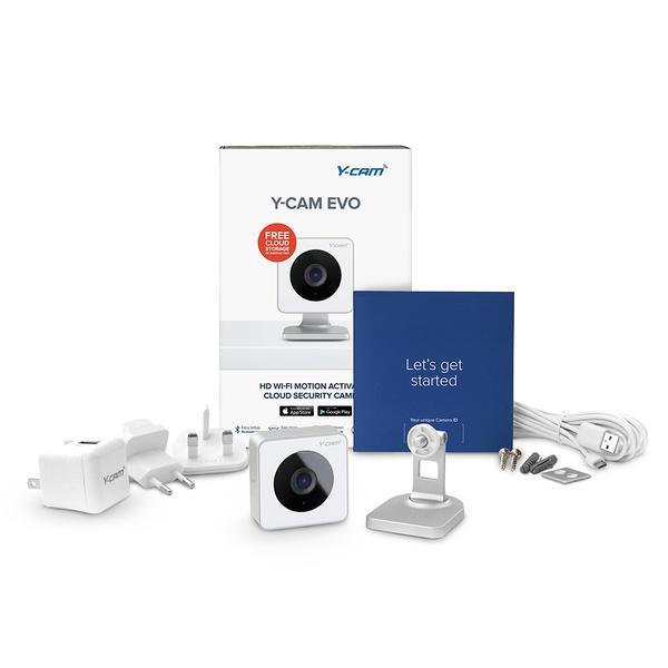 Камера відеоспостереження Y-cam Evo Indoor HD Wi-Fi (HMHDI07), мініатюра №19