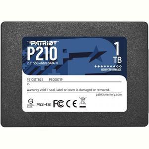 """Внутренний накопитель Patriot SSD 1TB P210 2.5"""" SATAIII TLC P210S1TB25"""