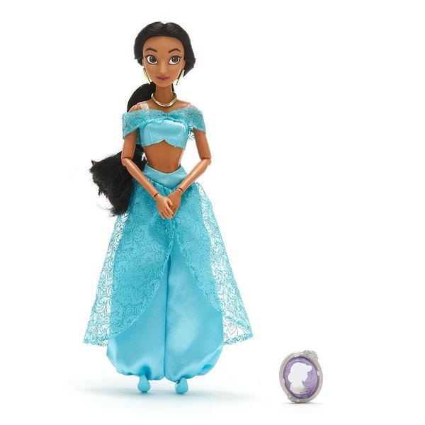 Кукла Disney Жасмин Принцессы Дисней с подвеской 31см 460015357214, мініатюра №1