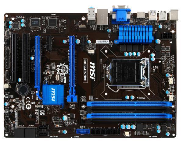 Материнська плата MSI  B85-G41 PC Mate (7850-003R), мініатюра №1