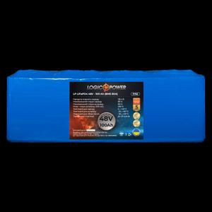 Акумулятор LP LiFePo-4 48 V 100 Ah BMS 80A