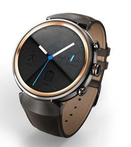 Смарт-часы ASUS ZenWatch 3 Gunmetal/Brown Leather (WI503Q)