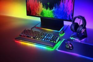 Клавиатура механическая Razer Huntsman Elite (Linear Optical Switch) - US Layout (RZ03-01871000-R3M1)