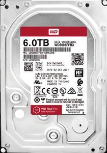 Внутрішній жорсткий диск Western Digital HDD SATA 6.0TB red Pro NAS 7200rpm 256MB WD6003FFBX