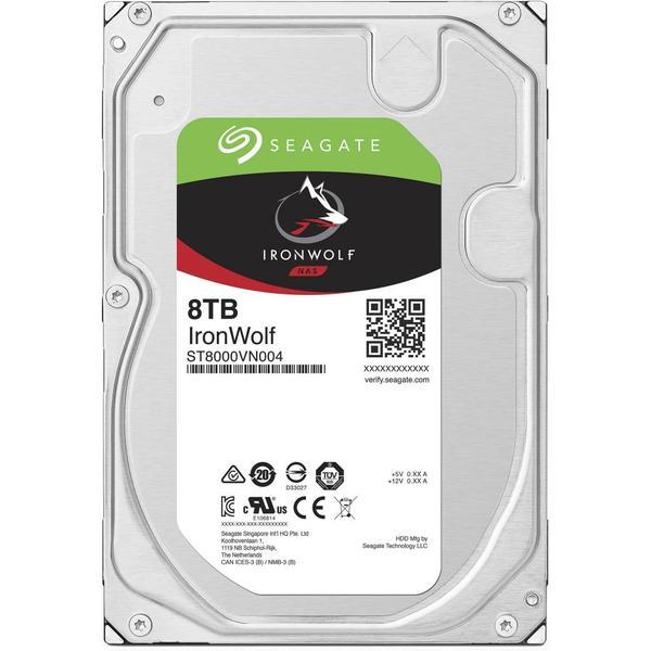 """Внутрішній жорсткий диск Seagate 8TB 7200 обертів в хвилину 256 MB SATA III 3.5"""" ST8000VN004, мініатюра №1"""