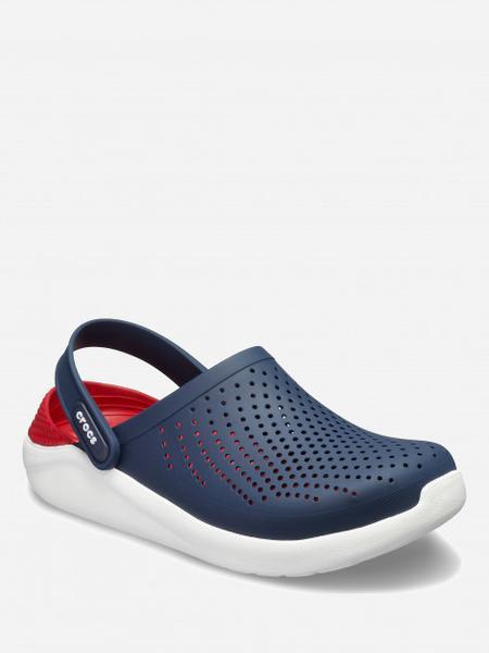 Сабо Crocs Literide Clog 42-43 26.3 см Синий Красный 204592-4CC-M9/W11 NAVY/PEPPER, мініатюра №2