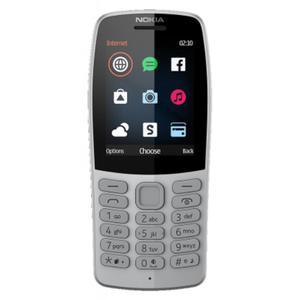 Кнопочный телефон Nokia 210 DS Grey (16OTRD01A03)