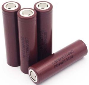 Аккумулятор 18650 Li-Ion LG LGDBHG21865 3000mAh 20A 4.2/3.6/2.5V, BROWN PVC BOX