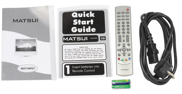 "Телевизор Matsui 19"" HD ready T2 (MAT19WI27), мініатюра №5"