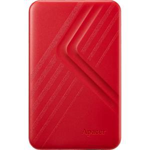 """Зовнішній жорсткий диск Apacer USB 3.2 Gen1 AC236 2TB 2 5"""" червоний AP2TBAC236R-1"""