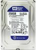 """Внутрішній жорсткий диск Western Digital blue 250ГБ 7200 обертів в хвилину 16МБ 3.5"""" SATA III WD2500AAKX, мініатюра №1"""