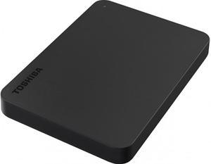 """Зовнішній жорсткий диск Toshiba 2.5"""" USB 4.0TB Canvio Basics black USB-C адаптер HDTB440EK3CBH"""