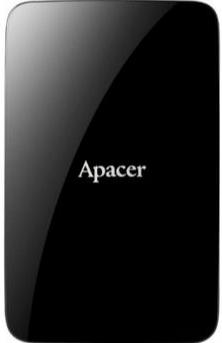 """Зовнішній жорсткий диск Apacer 1ТБ 2.5"""" USB 3.0 чорний AP1TBAC233B-S, мініатюра №1"""