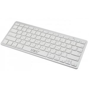 Беспроводная русская Bluetooth-клавиатура для мобильных устройств X5 Серая