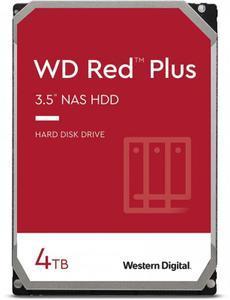 Внутрішній жорсткий диск Western Digital HDD SATA 4.0TB red Plus 5400rpm 128MB 40EFZX