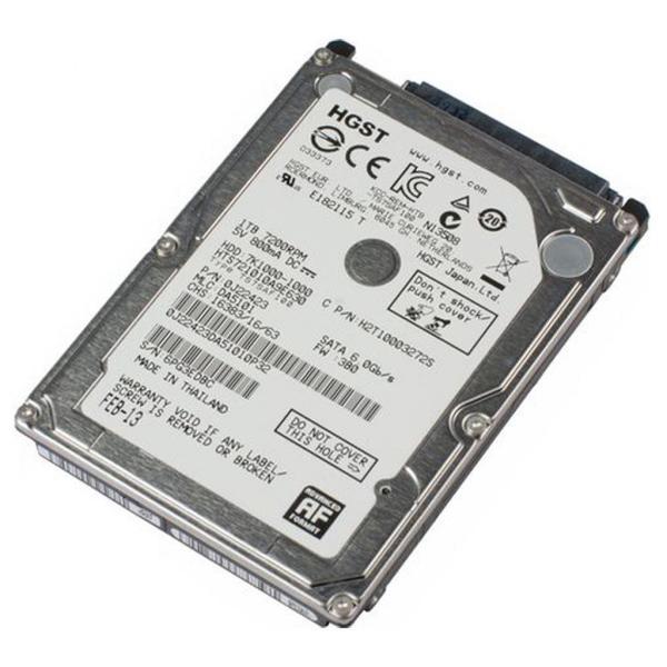 """Внутрішній жорсткий диск WDC Hitachi HGST 2.5"""" 1TB 0J22423 HTS721010A9E630, мініатюра №4"""