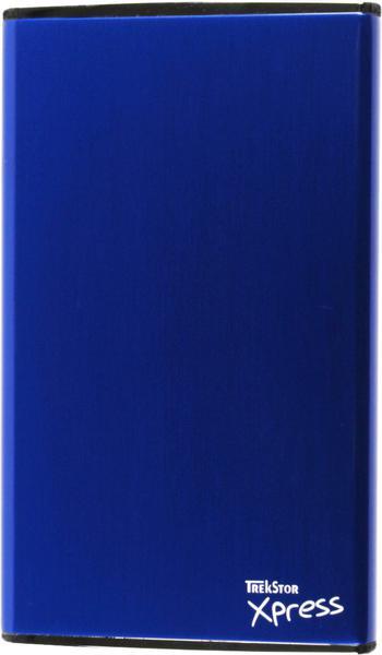 """Зовнішній жорсткий диск Trekstor DataStation pocket Xpress 320ГБ 2.5"""" USB 2.0 External blue TS25-320PXBL, мініатюра №1"""