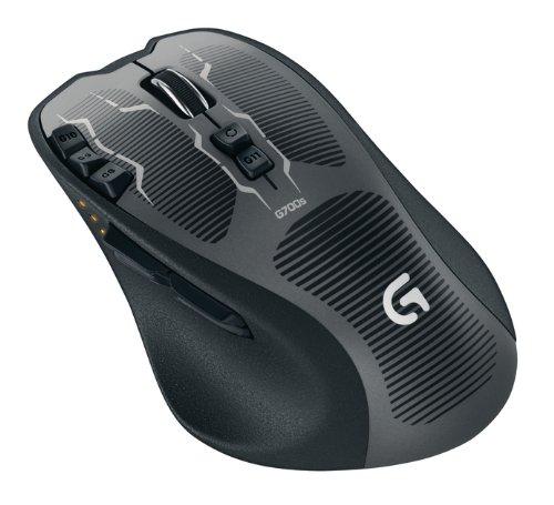 Мишка Logitech  G700s Rechargeable Gaming Mouse (910-003424), мініатюра №7