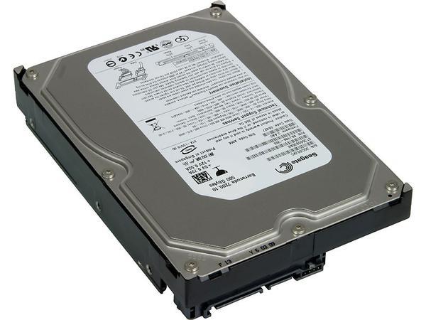 """Внутрішній жорсткий диск Seagate Desktop HDD 500ГБ 7200 обертів в хвилину 16МБ 3.5"""" SATA II ST3500630AS, мініатюра №3"""
