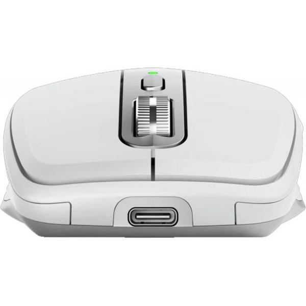 Мишка Logitech MX Anywhere 3 for Mac Pale Grey (910-005991), мініатюра №3