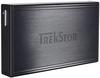 """Зовнішній жорсткий диск Trekstor DataStation Pocket t.ub 320ГБ 2.5"""" USB 2.0 External black TS25-320TUB, мініатюра №1"""