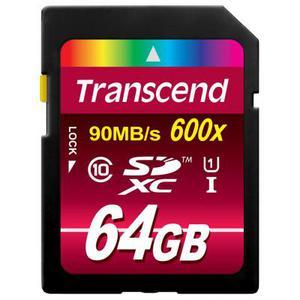 Карта памяти Transcend 64Gb SDXC UHS-I Ultimate (TS64GSDXC10U1)