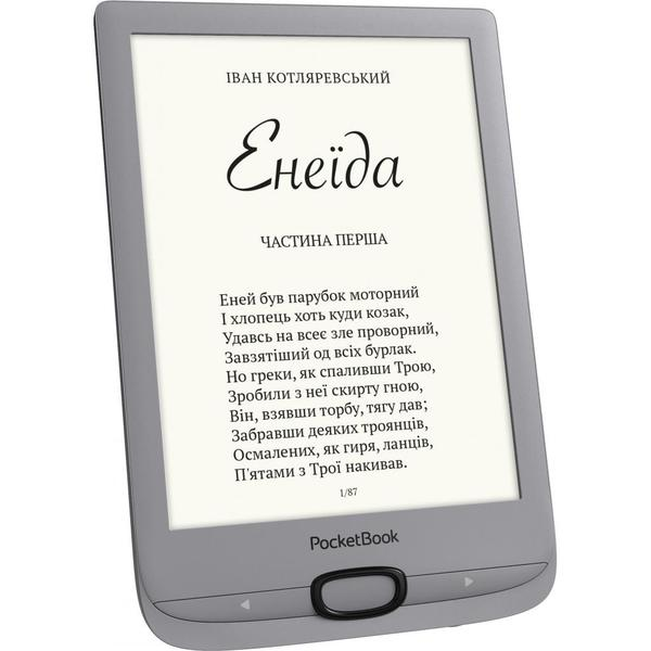 Електронна книга Pocketbook 616 Basic Lux2, Silver (PB616-S-CIS), мініатюра №2