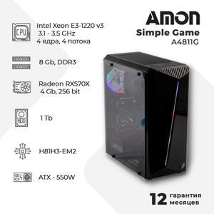 Компьютер Amon Simple Game A4811G