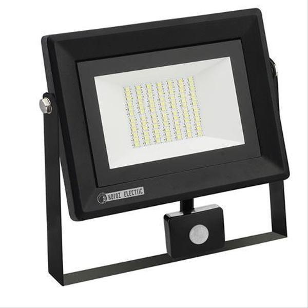 """Прожектор светодиодный с датчиком движения """"PARS/S-50"""" 50W 6400K, мініатюра №1"""