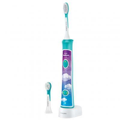 Электрическая зубная щетка Philips для детей HX6322 04, мініатюра №1