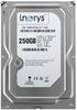 """Внутрішній жорсткий диск I.norys 250ГБ 7200 обертів в хвилину 8МБ 3.5"""" SATAII INO-IHDD0250S2-D1-7208, мініатюра №1"""