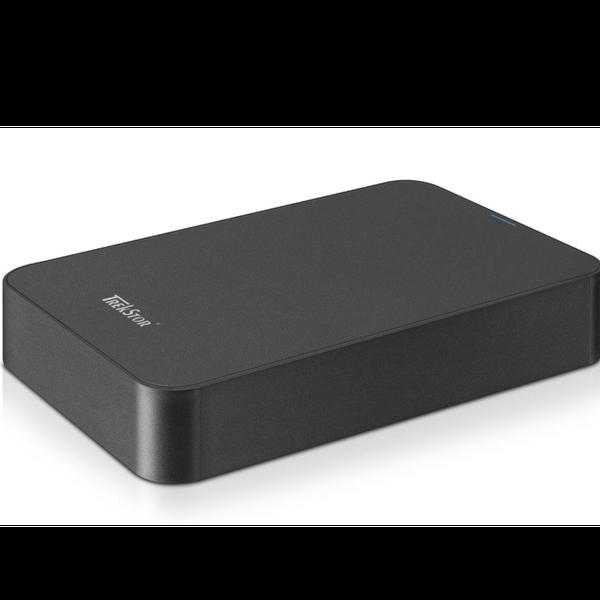 """Зовнішній жорсткий диск Trekstor DataStation maxi pace 500ГБ 3.5"""" USB 3.0 чорний TS35-MP500, мініатюра №2"""