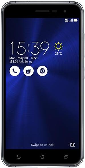 Смартфон Asus ZenFone 3 3-32 Gb sapphire black 90AZ0171-M01990, мініатюра №1
