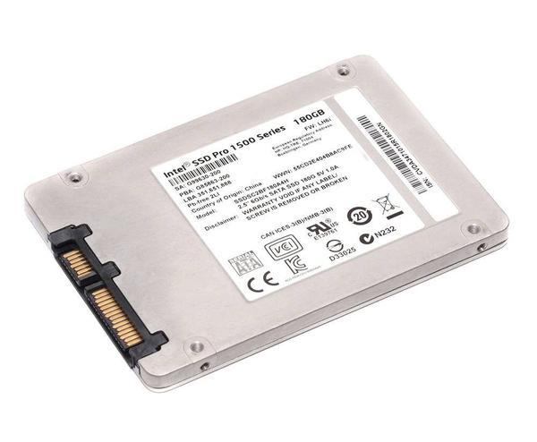 "SSD накопитель Intel Pro 1500 180ГБ 2.5"" SATAIII MLC (SSDSC2BF180A4H), мініатюра №1"